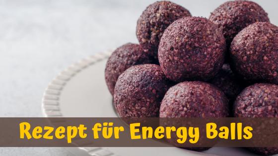 Energy Balls Rezept